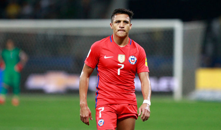 """Alexis: """"I hope go to another world and earn the respect that Chile had before"""""""