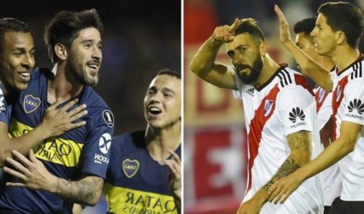 Así llegan Boca y River al Superclásico del domingo