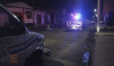 Asesinan a passerby in the Centre of Zacapu, Michoacán