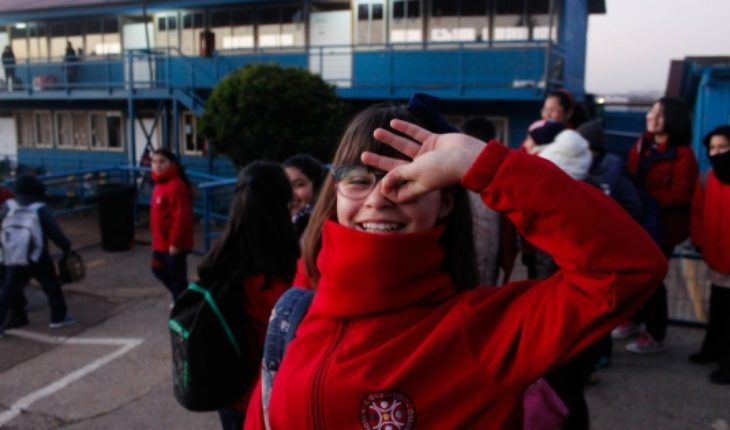 Back to school: school resume activities in Quintero and Puchuncaví after episodes of pollution