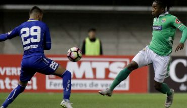Barnechea rescues a visit tie before against Audax Italiano in the semifinal's first leg of the Copa Chile