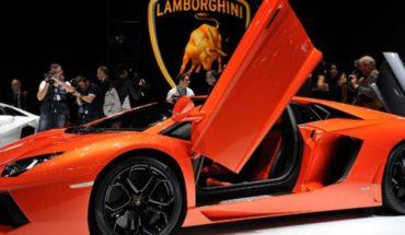 Bathed in gold Lamborghini surprise inhabitants of Pakistan