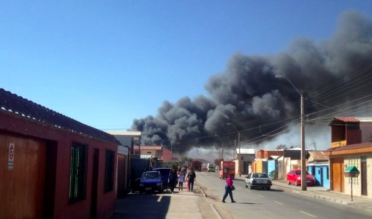 Bolivia will assist its citizens affected by the fire in Calama