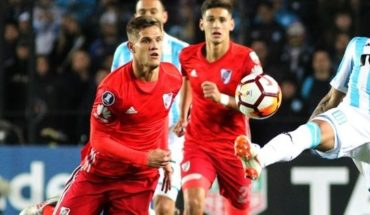 """Bruno Zuculini, following the scandal of Conmebol: """"my fear was that they punish River"""""""