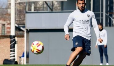 Carlos Tevez did not practice of mouth and is in doubt to face Argentinos Juniors