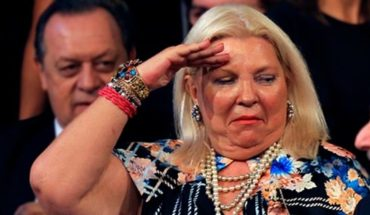 """Carrio: """"I will remove dead from Casa Rosada because viva do not go out and Macri nor"""""""