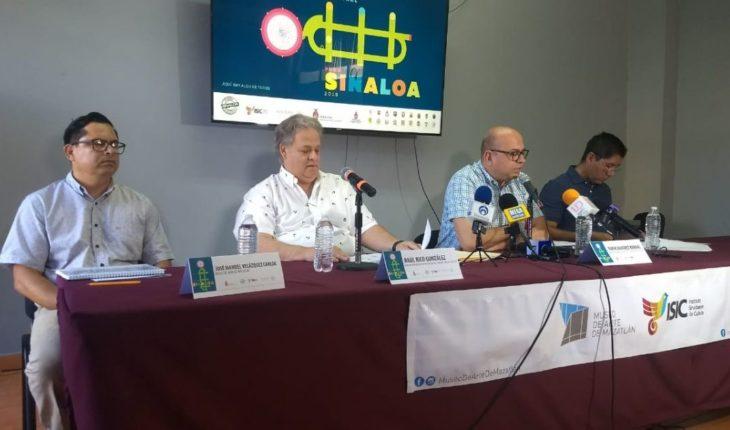Celso Piña open festival Cultural pure Sinaloa in Mazatlán