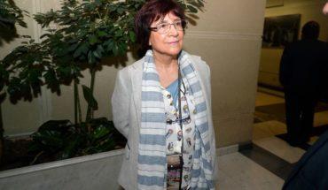 Chamber dismissed requirement of the UDI against Carmen Hertz caucus in constitutional accusation