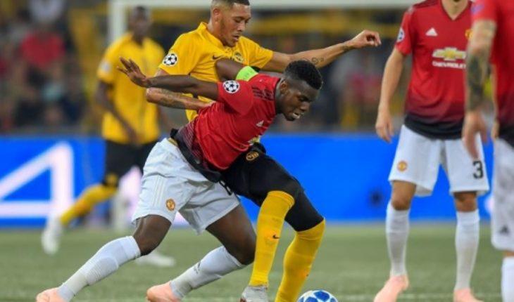 Champions League: Manchester United pasa por arriba al modesto Young Boys