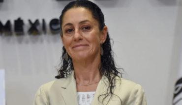 Claudia Sheinbaum jefa de gobierno electa de la Ciudad de México anuncia plan de reconstrucción