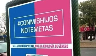 "#ConMisHijosNoTeMetas: the campaign in networks of ""Goes"" to oppose the comprehensive Sexual education"