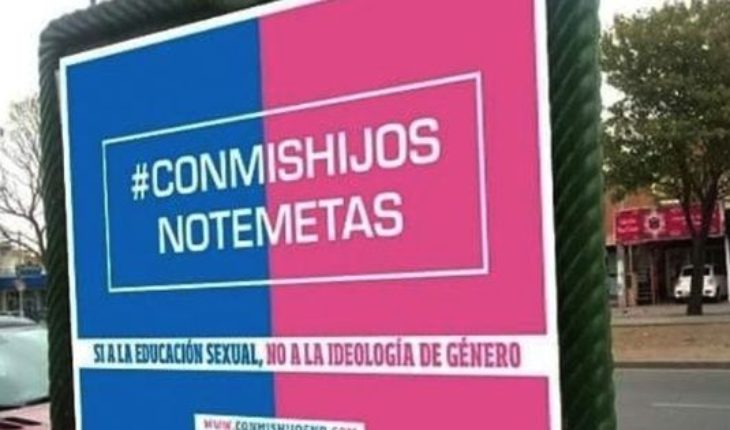 """#ConMisHijosNoTeMetas: the campaign in networks of """"Goes"""" to oppose the comprehensive Sexual education"""