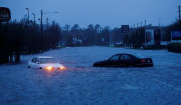 Contabilizan 9 muertos en EU por tormenta Florence