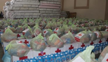 Delivery Red Cross support to more than 400 victims in El Fuerte