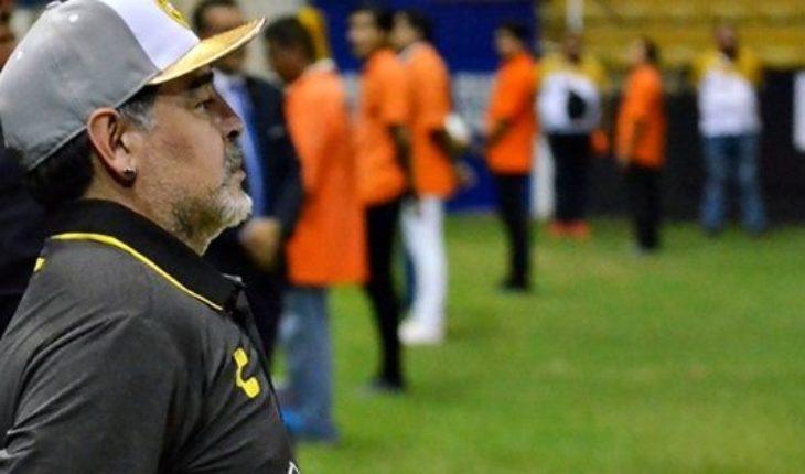 Derrota para Dorados de Sinaloa: ¿Qué le reclamó Maradona al árbitro?