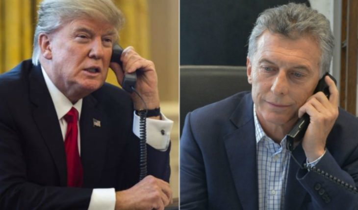 Do Aló Donald?: Macri talks with Trump by phone about argentina situation