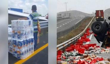 Dos accidentes similares en México y Chile, ¿dónde crees que hubo rapiña? (Video)