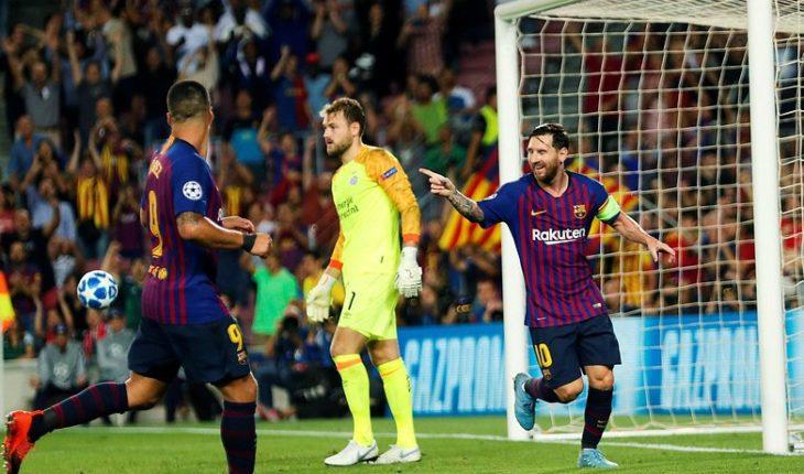 El Barcelona goleó 4-0 al PSV