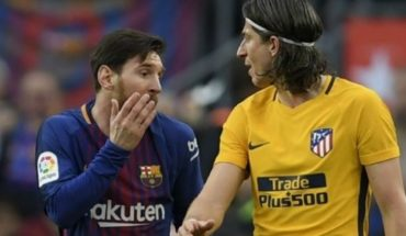 """Filipe Luis, another Brazilian surrendered to Lionel Messi: """"Is the best in the world"""""""