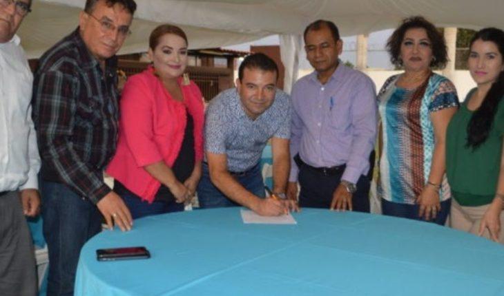 Firman convenio de colaboración para realizar labores de altruismo