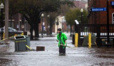 """""""Florence"""", sin piedad: siete muertos, un millón de personas sin luz y amenazas de tornado"""