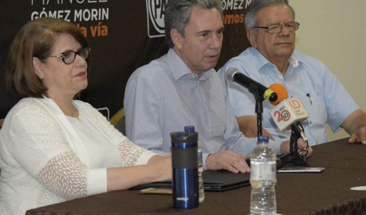 Gómez Marin busca el apoyo de los sinaloenses para dirigir el PAN