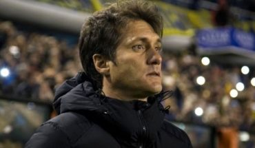 Guillermo Barros Schelotto conditioned its continuance in mouth