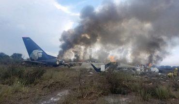 Gust of wind caused crash of Aeroméxico in Durango