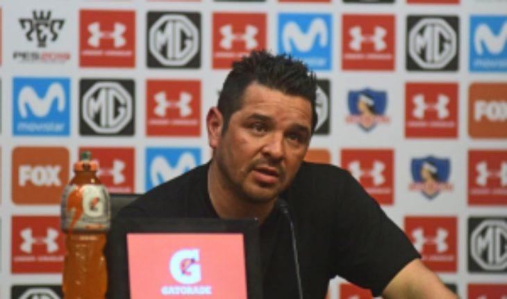 """Héctor Tapia: """"Hubo tres accidentes que nos condicionaron el partido"""""""