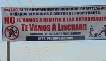 Hartos de la delincuencia vecinos de Pátzcuaro se unen contra los ladrones