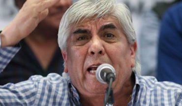 """Hugo Moyano: """"El Gobierno vive en una nube de mal olor"""""""