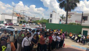 IMSS, empresas y escuelas realizan con éxito simulacro de sismo