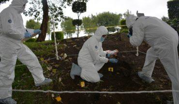 Identified in 2 years 9% of bodies in mass graves of Veracruz
