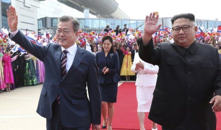 Kim y Moon inician la que sería cumbre coreana más exigente
