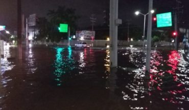 Lo que parecía una lluvia común dejó la ciudad bajo el agua