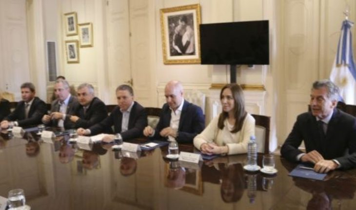 Macri met with Governors: 15 presented the budget in Congress