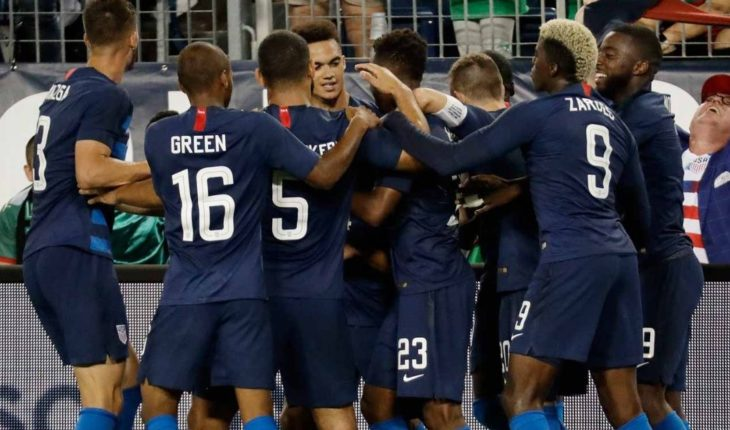 Mexico falls 2-0 in friendly to United States