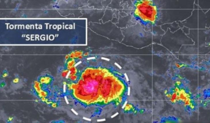 """Michoacán entre los afectados por tormenta tropical """"Sergio""""; PC emiten recomendaciones"""
