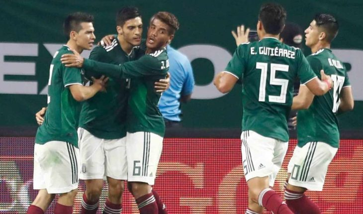 Minute by minute: against United States Mexico