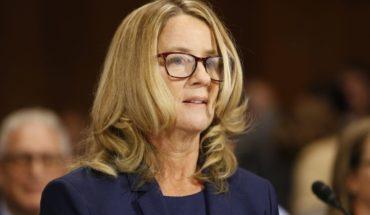 Mujer que denunció a nominado de Trump a la Corte Suprema se presentó ante el Senado de EE.UU.