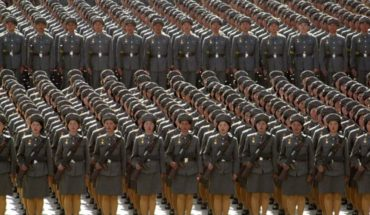 North Korea celebrates its 70th anniversary with a military parade Pyongyang
