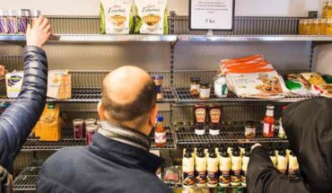 Offer of Milanese unleashes chaos in a supermarket