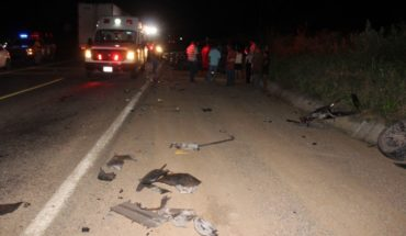 One dead and three injured in car accident in del Rosario