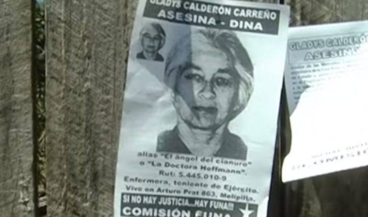 """Operación Cóndor: Condenan a 20 ex DINA, entre ellos Gladys Calderón, alias """"El ángel del cianuro"""""""