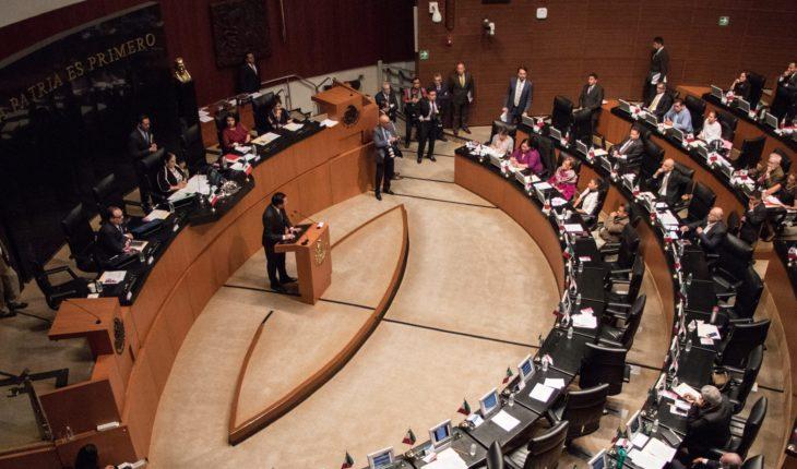 Oposición critica que cuenta oficial del Senado presuma cuarta transformación de AMLO
