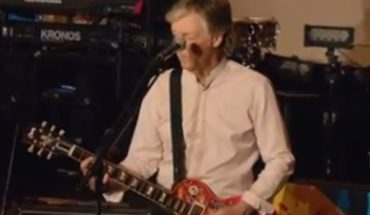 """Paul McCartney released his new album """"Egypt Station"""" in transmission by Youtube"""