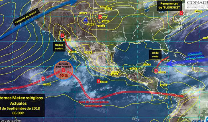 Prevén tormentas puntuales muy fuertes a intensas en los estados del norte y noroeste de México