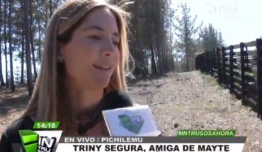 """Safe Trinity invited Mayte Rodríguez home and spoke of the break with Alexis: """"Went the distance"""""""