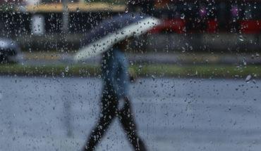 Se pronostican lluvias intensas acompañadas de actividad eléctrica en gran parte del país