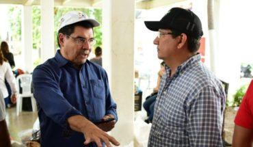 Secretario de Economía, Javier Lizarraga se reúne con Carlo Mario Ortiz